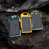 Solar Power Bank 12000MAH Waterproof LED lighting External Battery Solar Charger for iPhone
