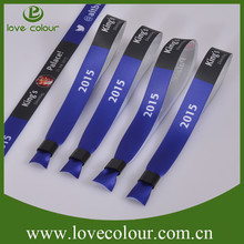 Trade Assurance smart polyester wristband from China Supplier