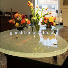 40mm unique round stone top dining tables