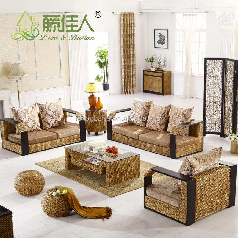 Classic Water Hyacinth Sofa