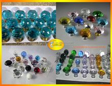 Clear 30mm Crystal Knobs Wholesale Crystal Pull Handles Crystal Door Knob