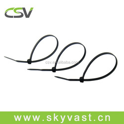 Strong plastic cable tie organizer