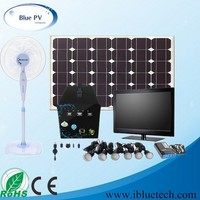 60w solar power system with 6pcs led bulb, solar light kit, solar energy system