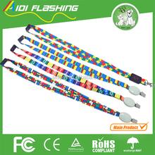 Belt making suplier/ Led flashing lanyard with best price