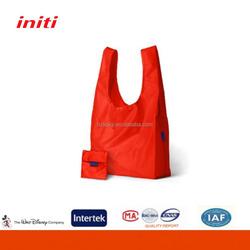 INITI 2016 Wholesale Nylon Foldable Shopping Bag for Shopping