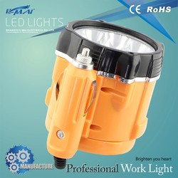 Chinese pocketable for tractor using ABS plastic wholesale working light