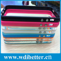 Blank Phone Case Sublimation TPU Bumper Case For Iphone 5