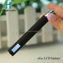 Electronic cigarette eGo LCD battery,mouthful counter and battery power display