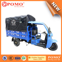South America Heavy Load Semi-Closed Gasoline Middle Engine 250CC Water Cool Carga Adultos Triciclo