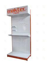 makita herramientas eléctricas piso estante de gancho de metal de stands de exposición