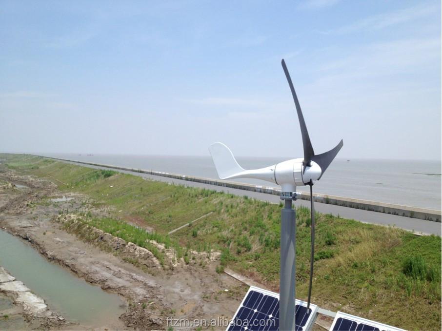 Wind solar hybrid LED street light