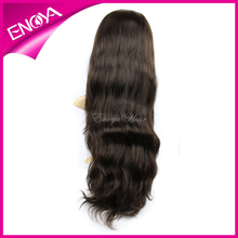100% Virgin brazilian hair full lace wig 32ines