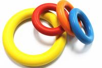 natural rubber pet chew durabel toys rubber pet toy