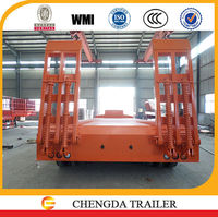 highest cost effective low bed trailer dimensions 9000 3000 1300mm