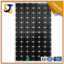 2015 nice quality China factory supplier manufacturer waterproof price per watt monocrystalline silicon solar panel