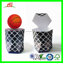 D218 Foldable Printing Basket Shaped Basketball Carrying Box