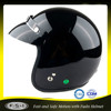 Black open face Japan style motorcycle accessories vintage helmet