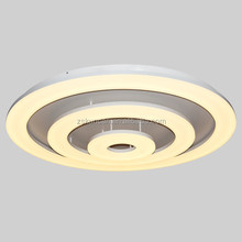 Luxurious round led ceiling lamp for big hotel lobby