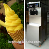2015 hot sale frozen fruit ice cream machine price with imported compressor