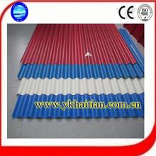 de color corrugado para techos de metal para techos materiales