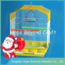 Pet cages portable wire mesh wrought iron bird cages