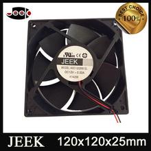 DC plastic fan 120mm small axial flow fan