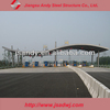 space frame toll station structure