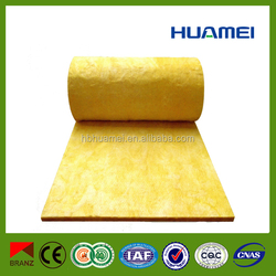 glass wool roll/ glass wool blanket roofing construction building materials