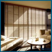 Outdoor wooden venetian blinds