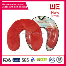 Microwave activared Reusable Hot cold gel beads pack for Neck and Shoulder