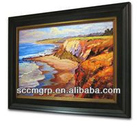 Oil Paint With Frame For Hanging Decoration