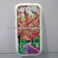 Heat transfer sublimation PC cover case for samsung S3