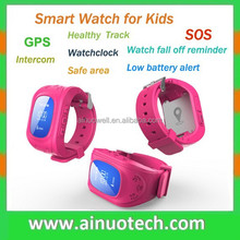 Q55 Q50 child SOS smart watch phone for kids fashion GPS wristband watch healthy tracker