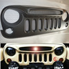 New Jeep Jk Wrangler Angry Grill ABS Plastic Jeep Grill
