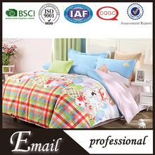 Fancy lovely children&adult size home textile brand names bedding/comforter set