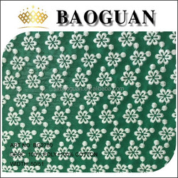2015 shaoxing baoguan embroidered iron on fabric embroidered sequin fabric silk embroidered fabric