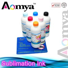 Excellent quality heat transfer dye sublimation ink for Wide format printer