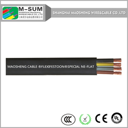 electric flat cable shielded chians shanghai china