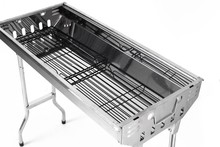 Good Quality Outdoor Stainless Steel Foldable Charcoal Grills
