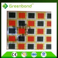 Greenbond Home decor colored outdoor aluminum composite board