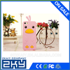 2015 Custom Animal Shaped Silicone Cell Phone Case For Iphone