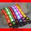 VIBETTER-LDC-9 2.0cm Stripe Double side luminous LED dog/pet collars