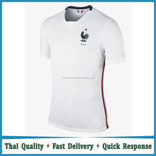 Wholesale 15-16 NEW france away soccer jersey / Maillot de football en France