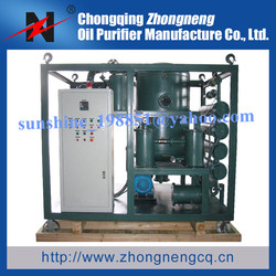 Double-Stage Vacuum Transformer Oil Dehydration System/Oil Purification Machine