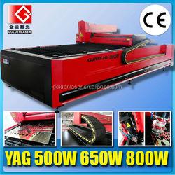 1500X3000mm CNC YAG 650W 800W Metal Laser Cutting Machine Price