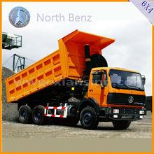 beiben camión nuevo 6x4 camiones dumper y descarga de camiones para la venta