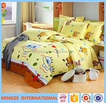 popular frozen design kids bedding set carton 3d bedding set