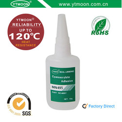 MN 495 High Temperature Resistance Cyanoacrylate Instant Adhesive