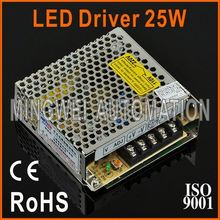 High Reliable CE RoHS Approved LED Driver 25W S-25