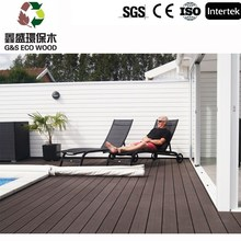 G&S composite decking/beautiful wpc decking/hot sale wpc board